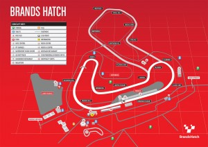 Brands Hatch Circuit Map