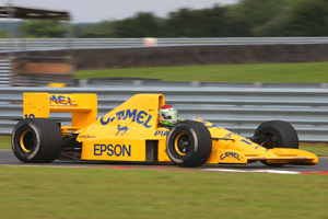 Steve Griffiths returns to Lotus Festival with 101 F1 racer