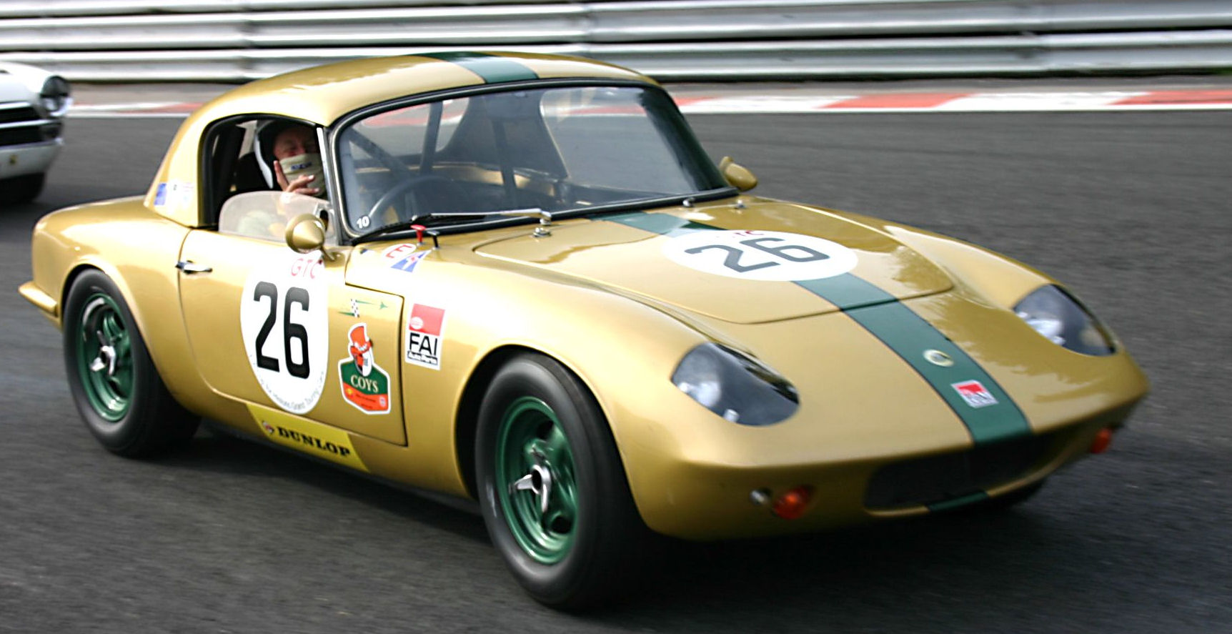 Classic Lotus Elan race confirmed
