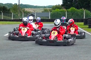 Lotus inter-club karting competition